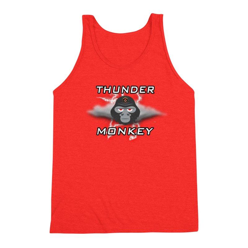 Thunder Monkey Men's Tank by Vegetable Conspiracies