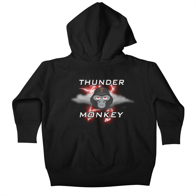 Thunder Monkey Kids Baby Zip-Up Hoody by Vegetable Police