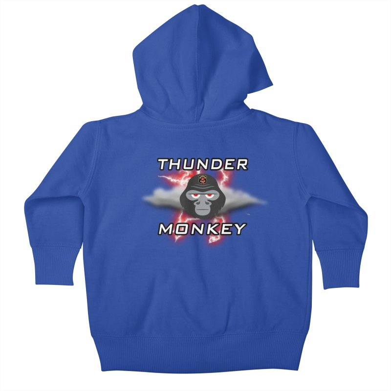 Thunder Monkey Kids Baby Zip-Up Hoody by Vegetable Police