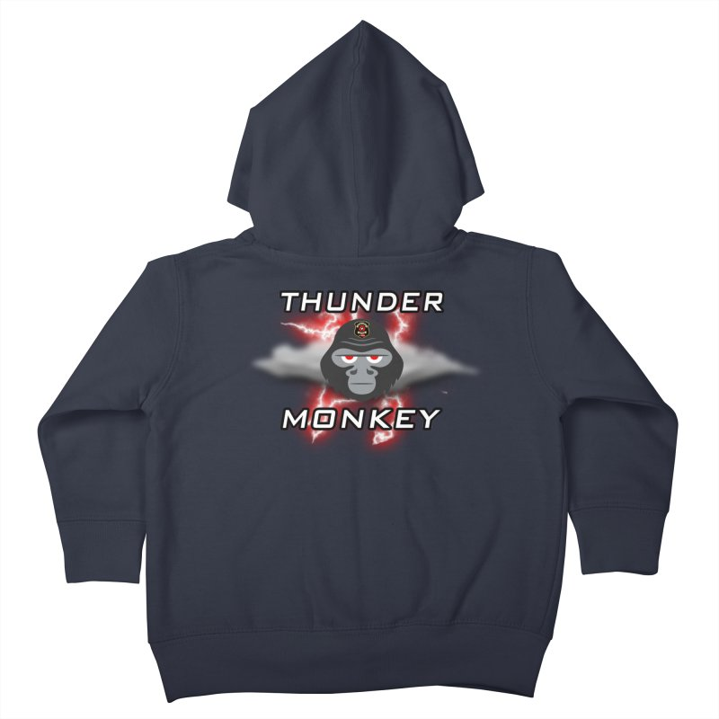 Thunder Monkey Kids Toddler Zip-Up Hoody by Vegetable Police
