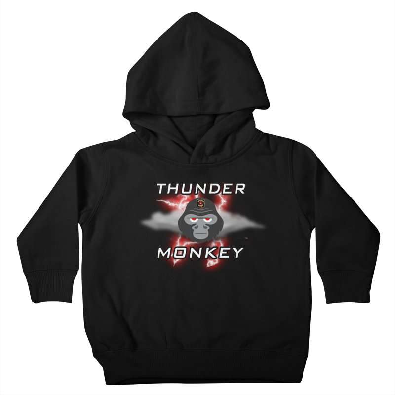 Thunder Monkey Kids Toddler Pullover Hoody by Vegetable Police