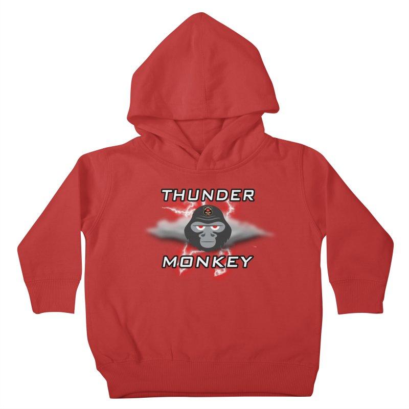 Thunder Monkey Kids Toddler Pullover Hoody by Vegetable Police