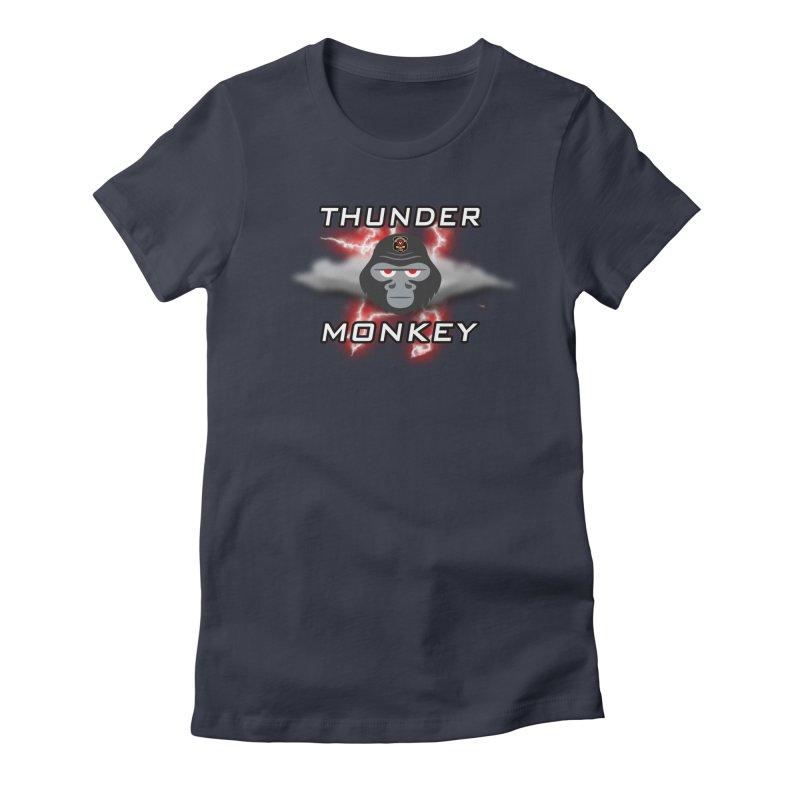 Thunder Monkey Women's T-Shirt by Vegetable Police