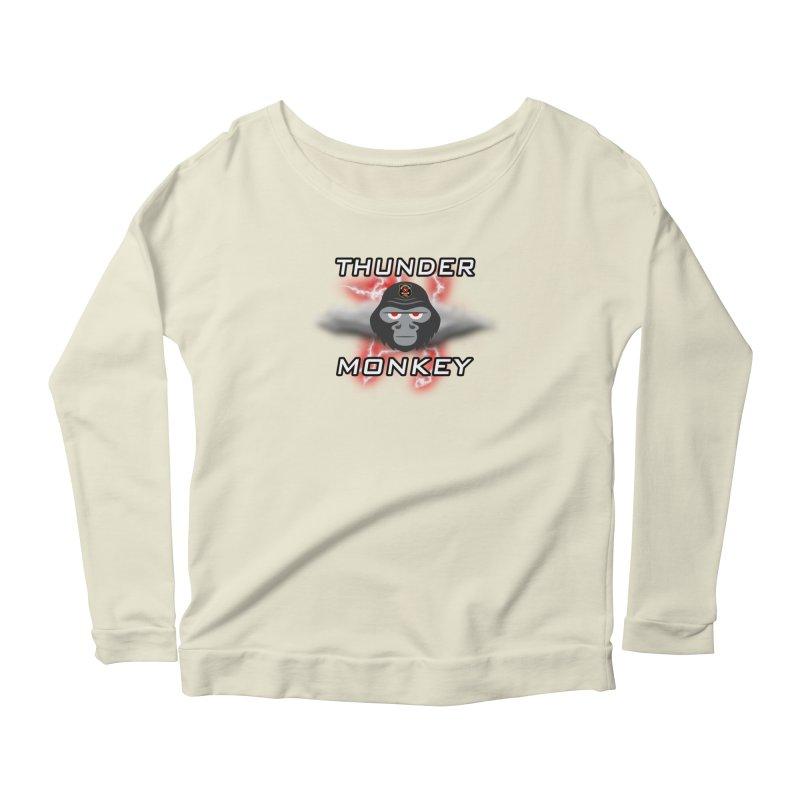 Thunder Monkey Women's Longsleeve T-Shirt by Vegetable Police