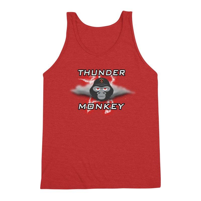 Thunder Monkey Men's Tank by Vegetable Police