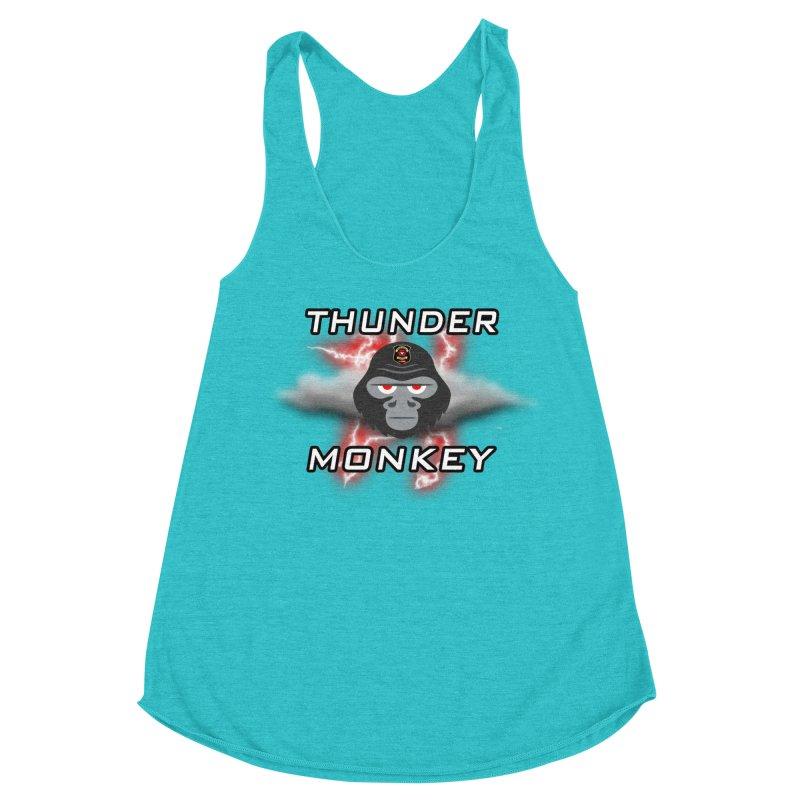 Thunder Monkey Women's Tank by Vegetable Police