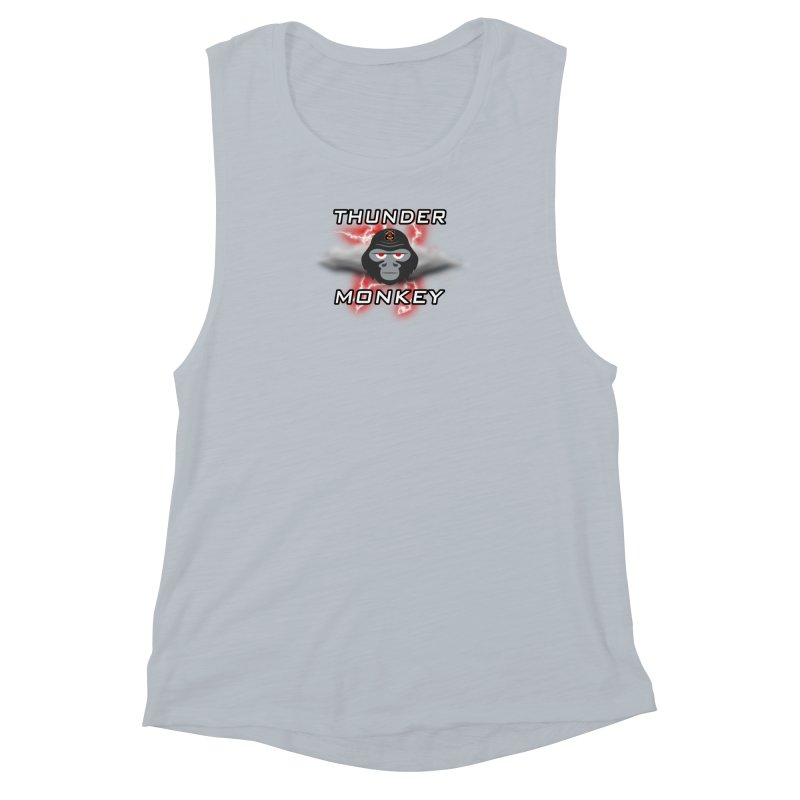 Thunder Monkey Women's Muscle Tank by Vegetable Police
