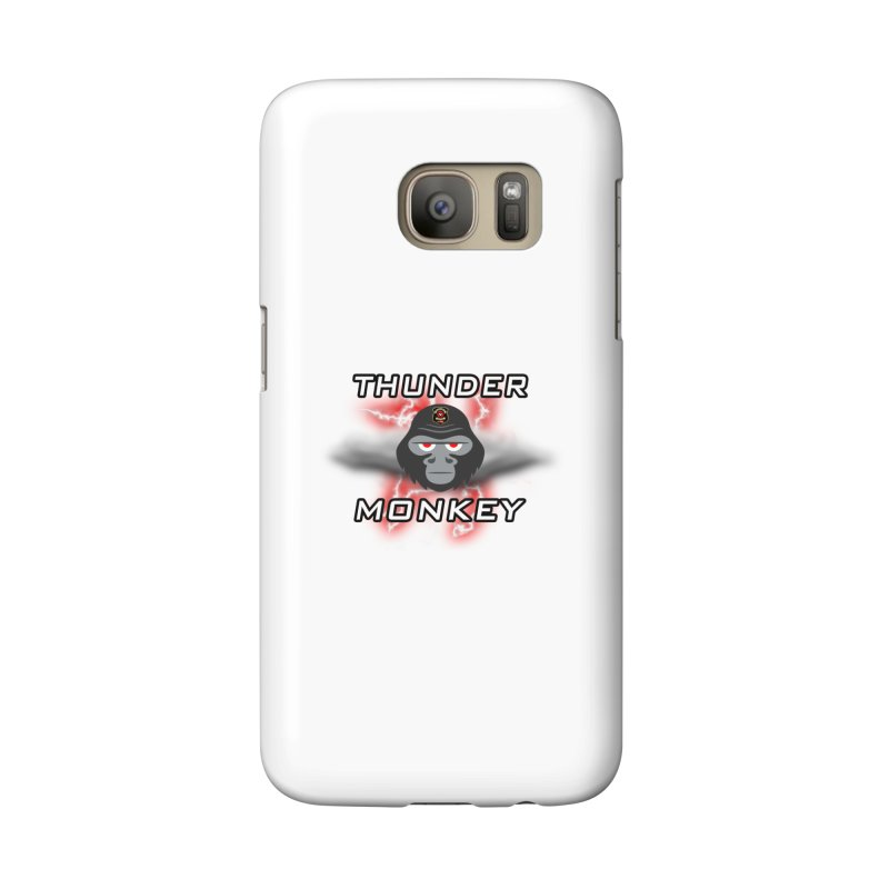 Thunder Monkey Accessories Phone Case by Vegetable Conspiracies