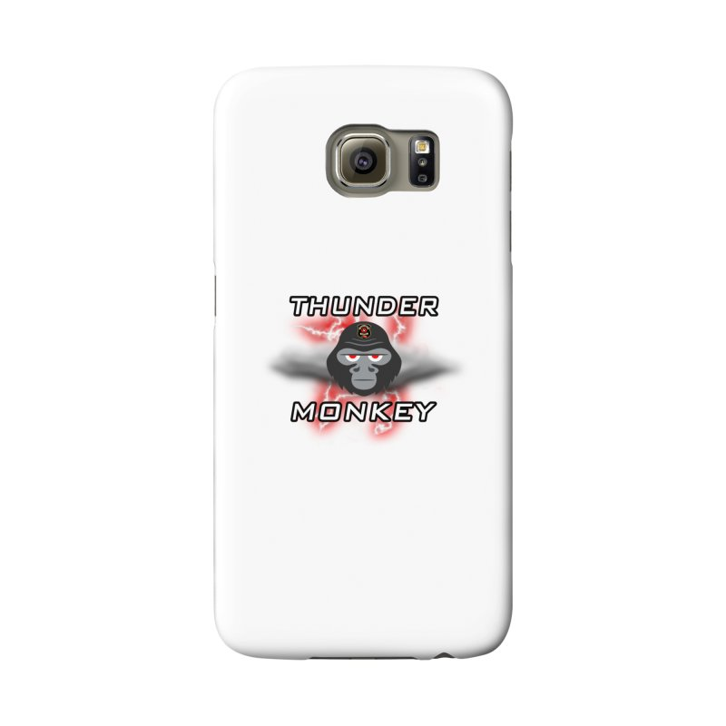 Thunder Monkey Accessories Phone Case by Vegetable Police