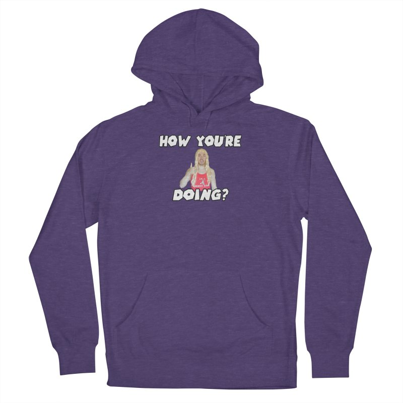 How You're Doing? (sv3rige edition) Men's French Terry Pullover Hoody by Vegetable Police