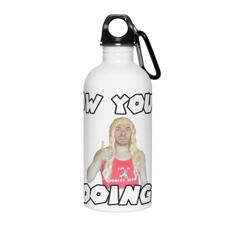 How You're Doing? (sv3rige edition) Accessories Water Bottle by Vegetable Police