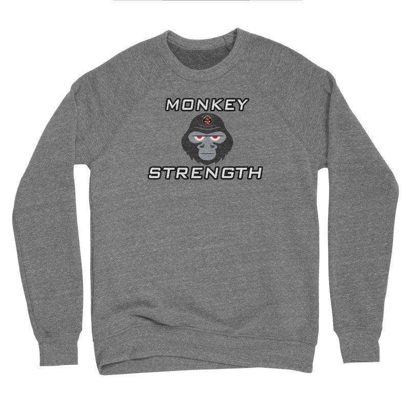 Monkey Strength Men's Sweatshirt by Vegetable Police