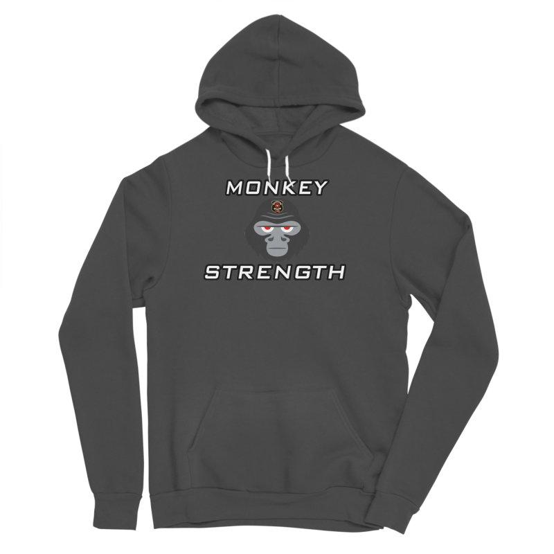Monkey Strength Men's Pullover Hoody by Vegetable Police