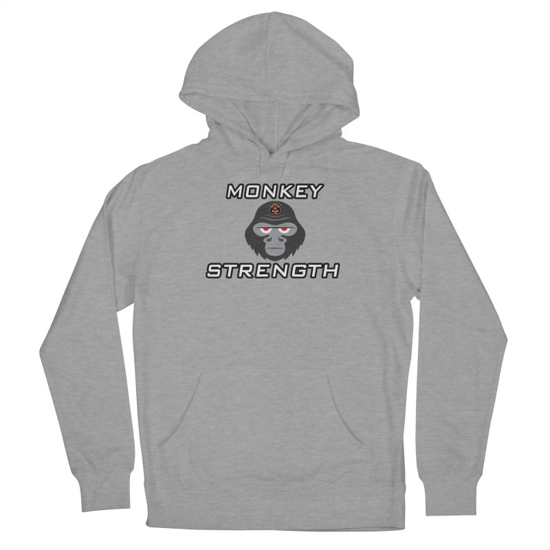 Monkey Strength Women's Pullover Hoody by Vegetable Police