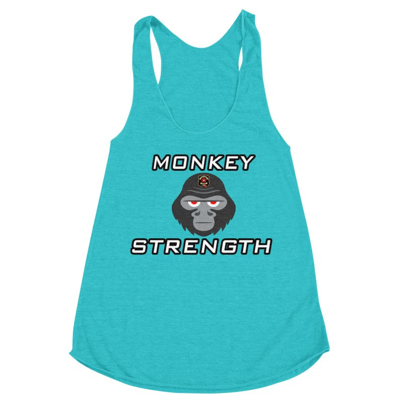 Monkey Strength Women's Tank by Vegetable Police