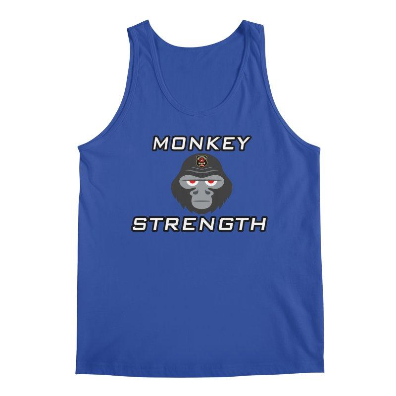 Monkey Strength Men's Regular Tank by Vegetable Police