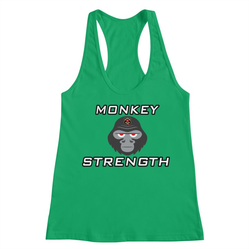 Monkey Strength Women's Tank by Vegetable Police