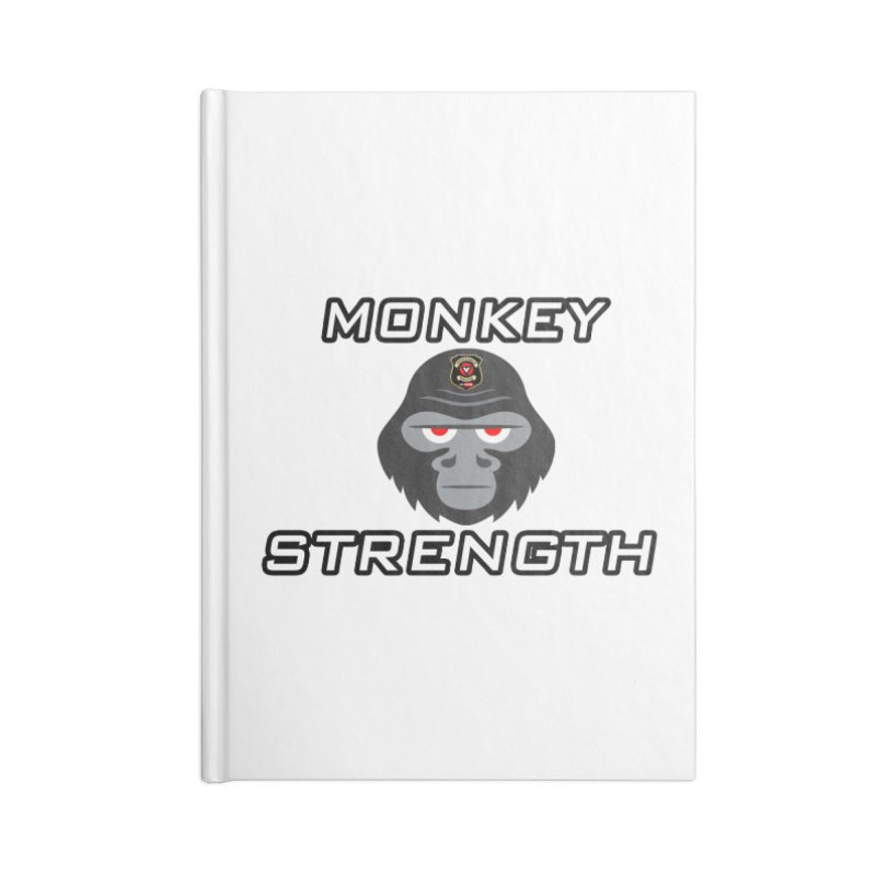 Monkey Strength Accessories Notebook by Vegetable Police