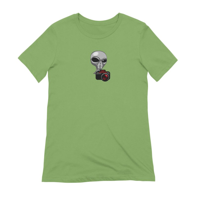 Camera Conspiracies Women's Extra Soft T-Shirt by Vegetable Police