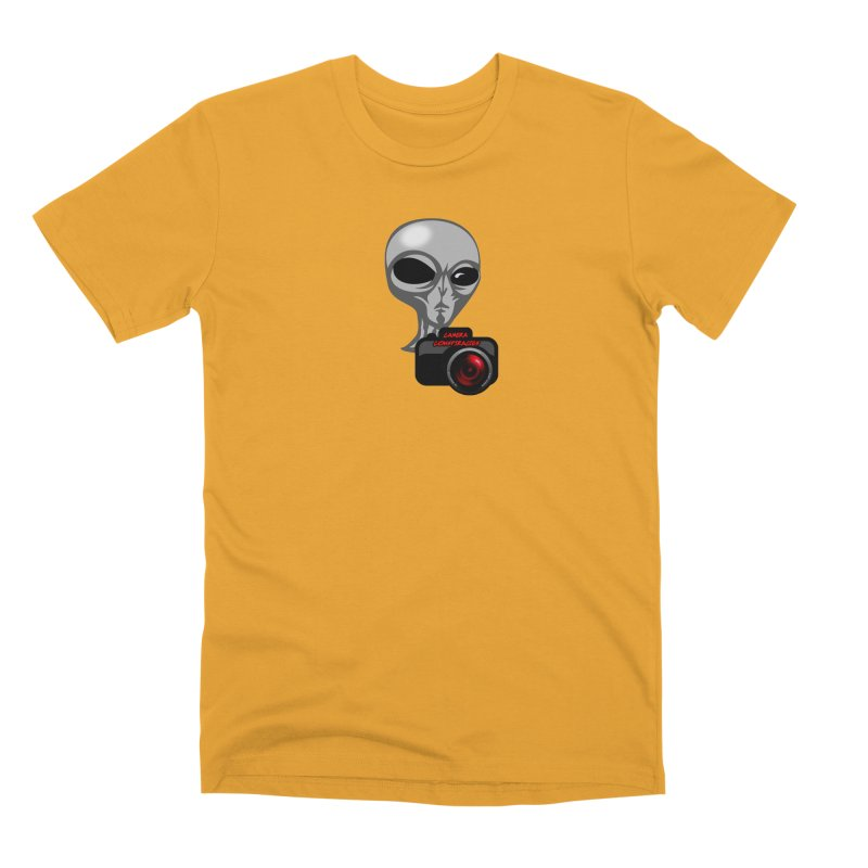 Camera Conspiracies Men's Premium T-Shirt by Vegetable Police