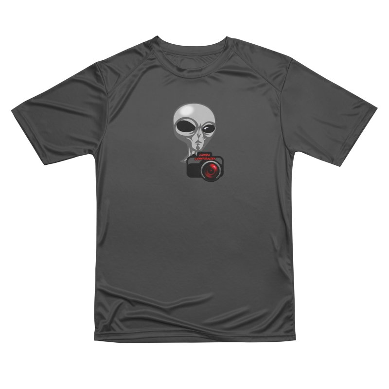 Camera Conspiracies Men's Performance T-Shirt by Vegetable Police