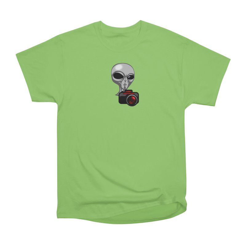 Camera Conspiracies Men's T-Shirt by Vegetable Police