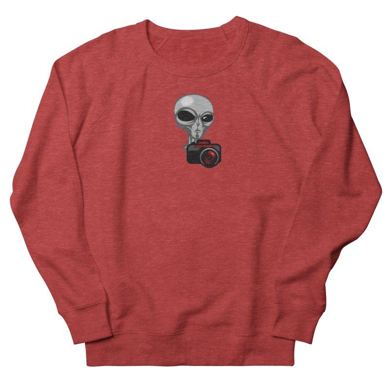 Camera Conspiracies Men's Sweatshirt by Vegetable Police