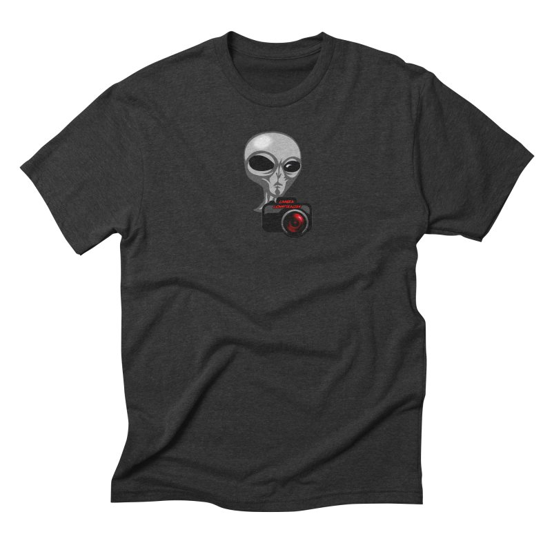 Camera Conspiracies in Men's Triblend T-Shirt Heather Onyx by Vegetable Police