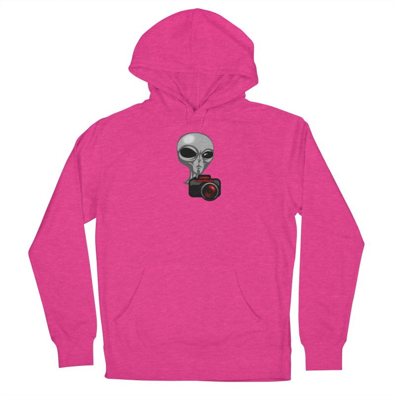 Camera Conspiracies Women's French Terry Pullover Hoody by Vegetable Police