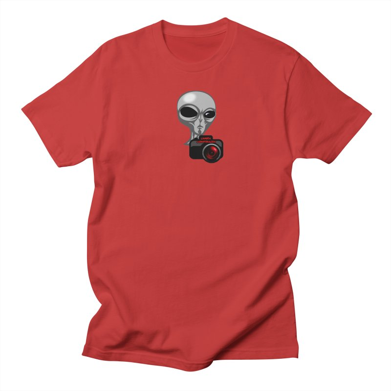 Camera Conspiracies Men's T-Shirt by Vegetable Conspiracies