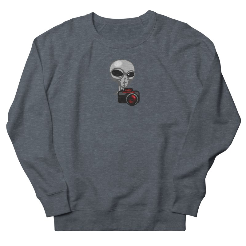 Camera Conspiracies Men's Sweatshirt by Vegetable Conspiracies