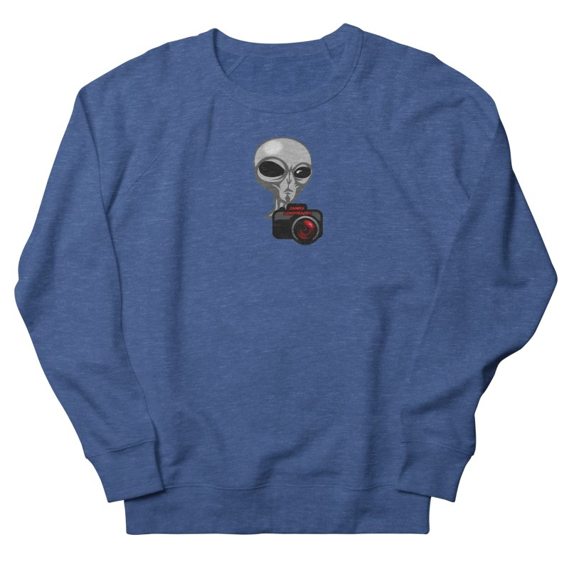 Camera Conspiracies Men's French Terry Sweatshirt by Vegetable Police