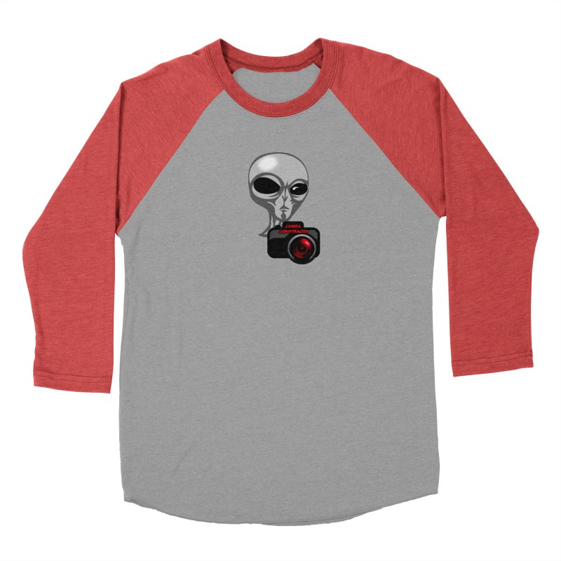 Camera Conspiracies Women's Baseball Triblend Longsleeve T-Shirt by Vegetable Police