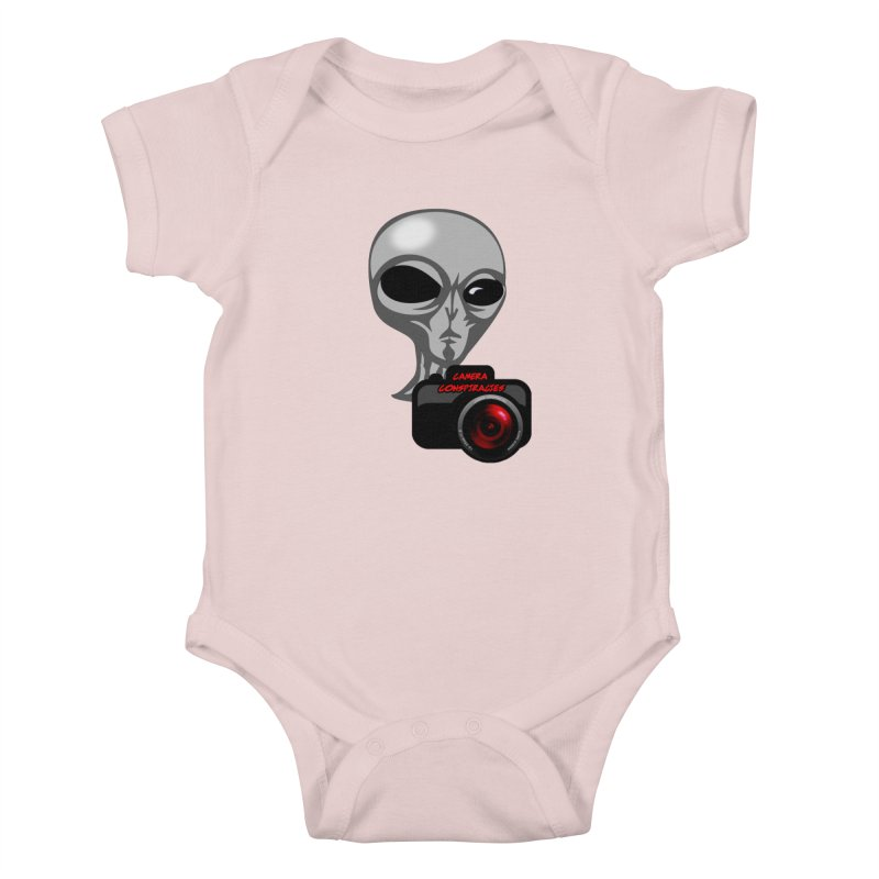 Camera Conspiracies Kids Baby Bodysuit by Vegetable Police