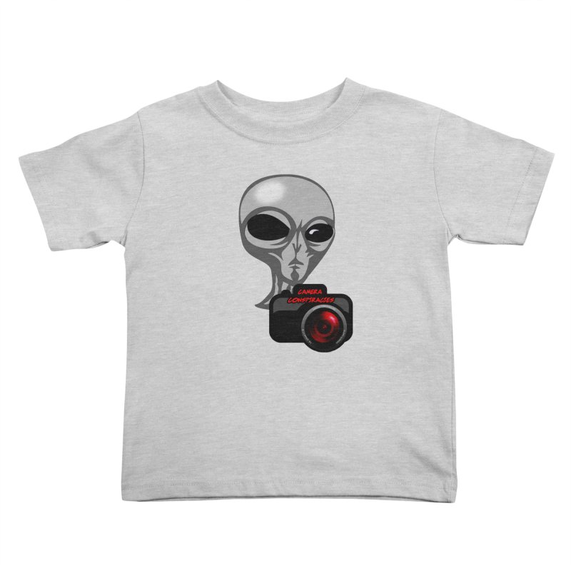 Camera Conspiracies Kids Toddler T-Shirt by Vegetable Conspiracies