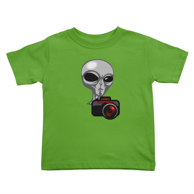 Camera Conspiracies Kids Toddler T-Shirt by Vegetable Conspiracies