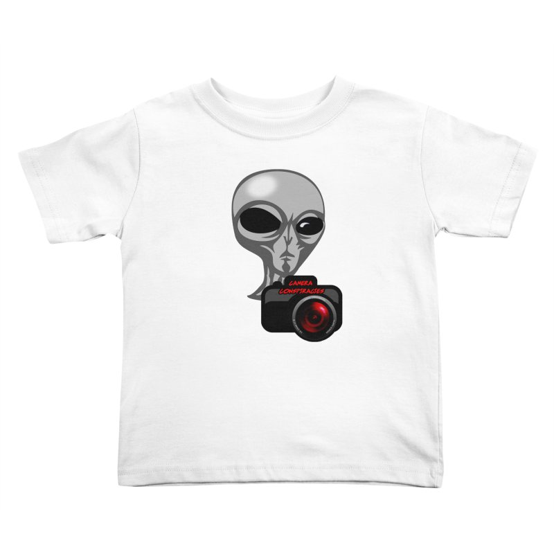 Camera Conspiracies Kids Toddler T-Shirt by Vegetable Police