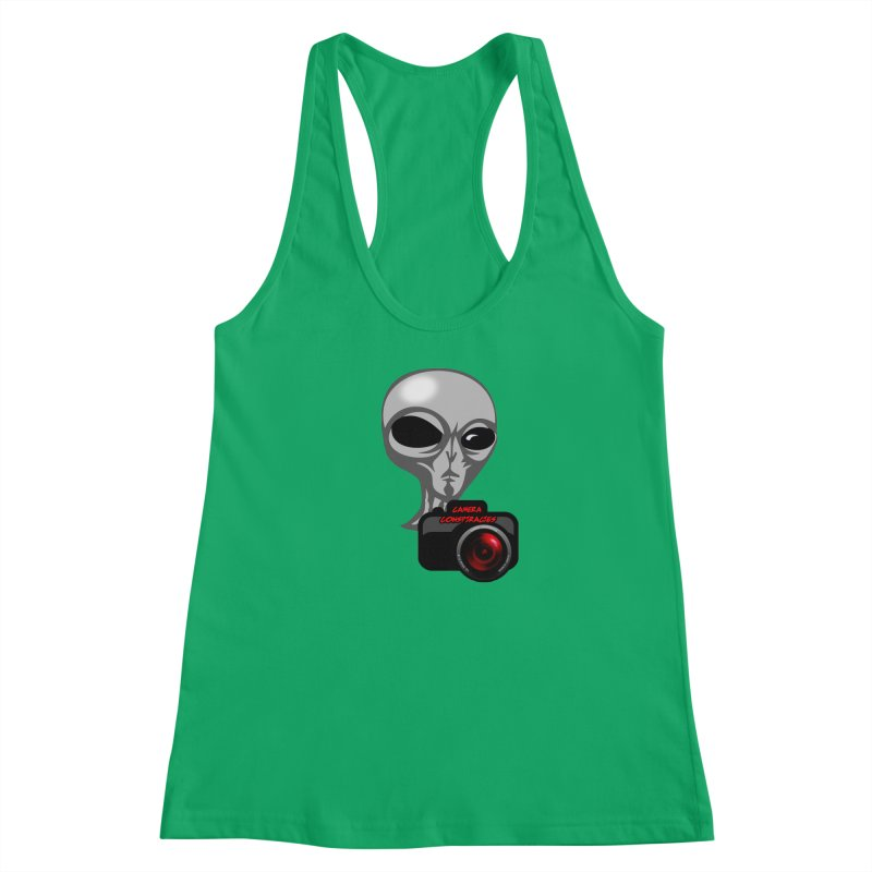 Camera Conspiracies Women's Tank by Vegetable Police
