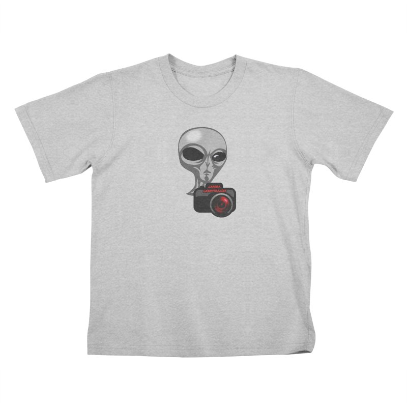 Camera Conspiracies Kids T-Shirt by Vegetable Conspiracies