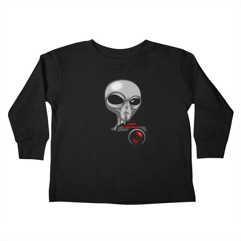 Camera Conspiracies Kids Toddler Longsleeve T-Shirt by Vegetable Conspiracies