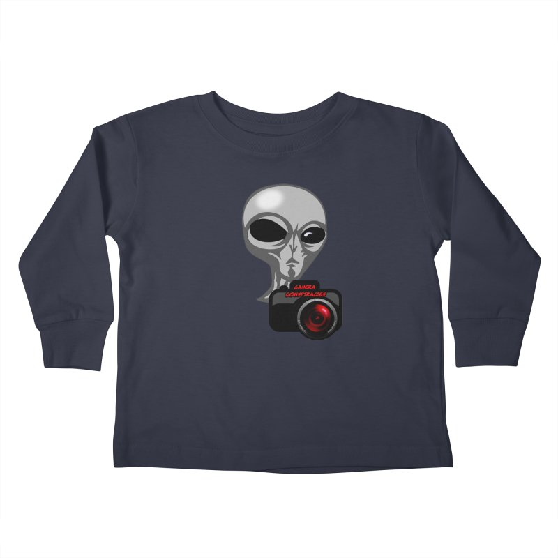Camera Conspiracies Kids Toddler Longsleeve T-Shirt by Vegetable Police