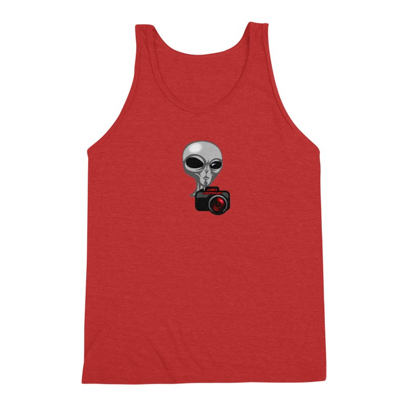 Camera Conspiracies Men's Tank by Vegetable Police
