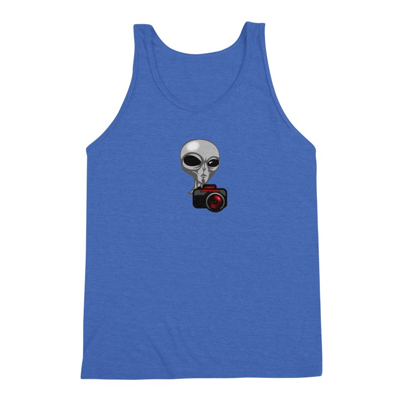Camera Conspiracies Men's Triblend Tank by Vegetable Police