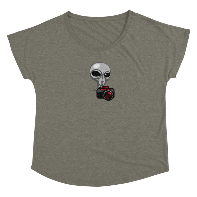 Camera Conspiracies Women's Scoop Neck by Vegetable Conspiracies