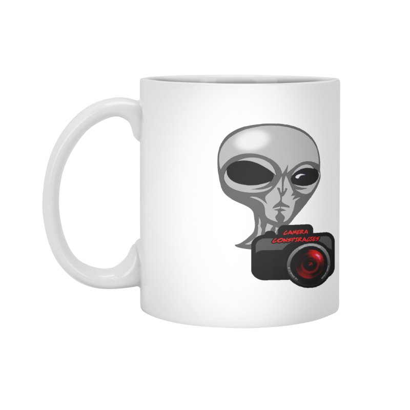 Camera Conspiracies Accessories Mug by Vegetable Conspiracies