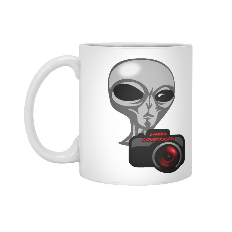 Camera Conspiracies Accessories Mug by Vegetable Police