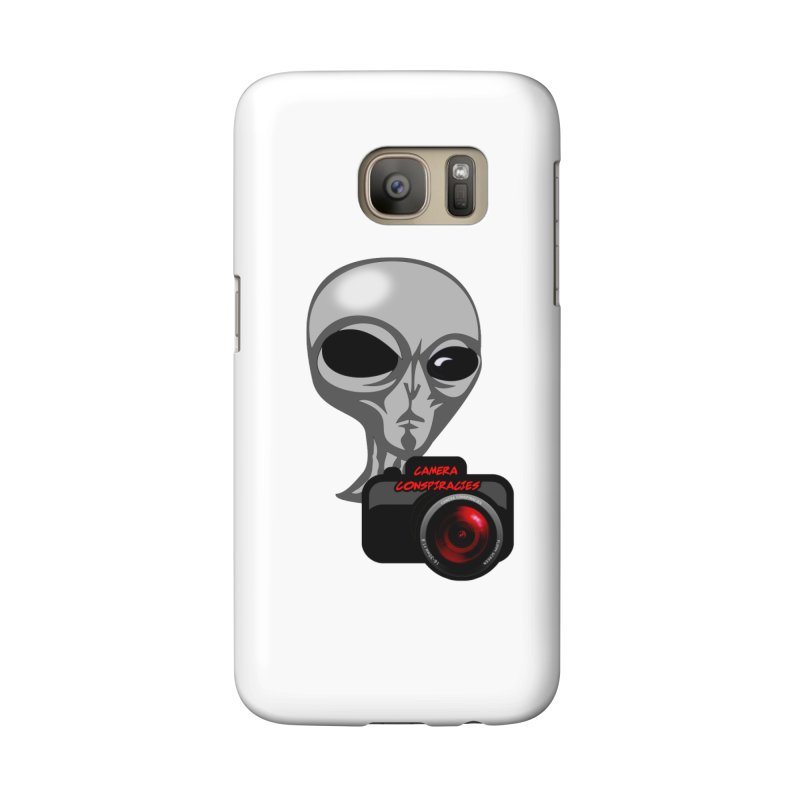 Camera Conspiracies Accessories Phone Case by Vegetable Police