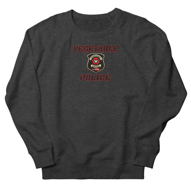 Vegetable Police (Black Text) Men's Sweatshirt by Vegetable Police