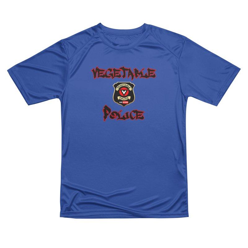 Vegetable Police Undercover (Black Graffiti) Men's Performance T-Shirt by Vegetable Police