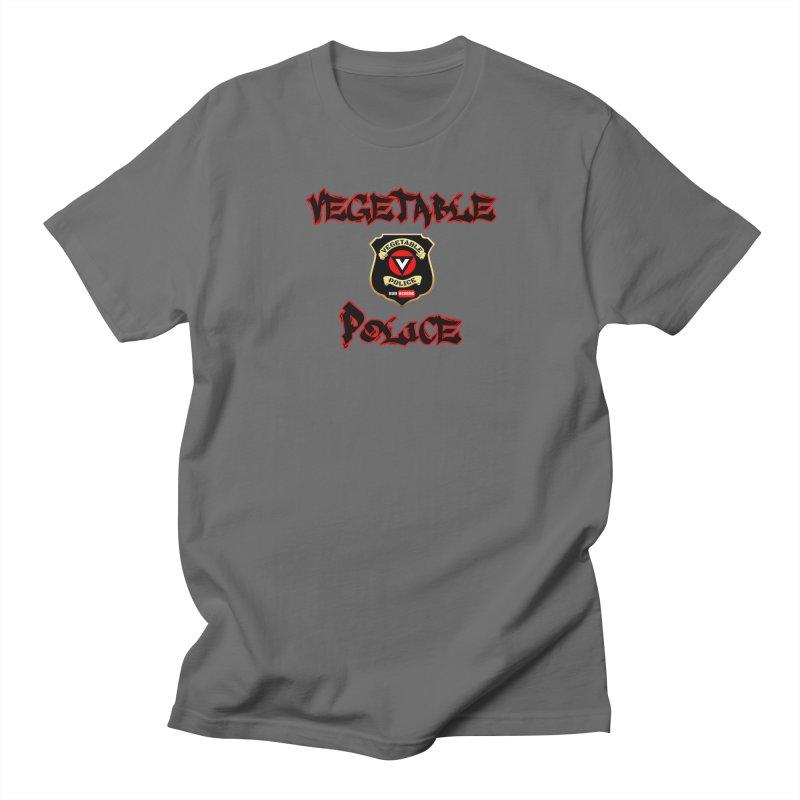 Vegetable Police Undercover (Black Graffiti) Women's T-Shirt by Vegetable Police